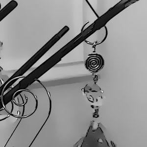 Casey Keith Design Holiday - Vintage Crystal Spiral Ornament II